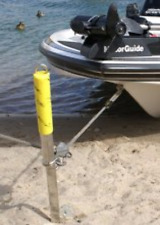 Shore Sandbar Spike Anchor SMALL Galvanized Boat UP to 22' by Slide Anchor SOSS