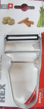 X 4 REX Potato Peeler Stainless Steel Handle Made in Swiss Guaranteed Quality