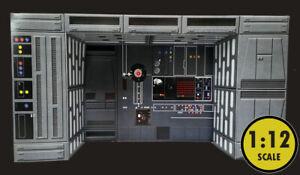 "Black Series Death Star Computer Alcove Accessory 6"" Star Wars Hasbro Ships Free"
