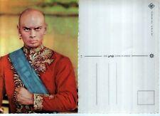 YUL BRYNNER (carte acteurs(trices),chanteurs(ses),groupes,année 60/70/80