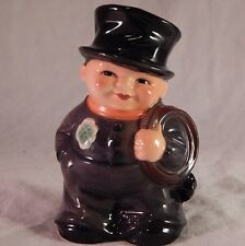 Vintage Goebel Chimney Sweep Coin Bank Germany with Key Hand Painted