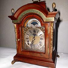 Bracket Clock Kaminuhr Tischuhr Mondphasenuhr Stutzuhr Mondphase WARMINK WUBA