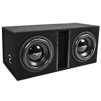 """NEW SKAR AUDIO EVL-2X12D4 - DUAL 12"""" 5000W VENTED LOADED SUB BOX ENCLOSURE - D4"""