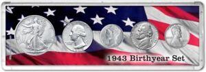 Birth Year Coin Gift Set, 1943