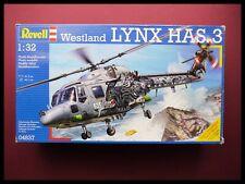 RARE REVELL Westland Lynx HAS. 3 1:32 AIRCRAFT MODEL KIT
