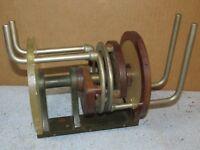 Vintage Large Variable Roller Inductor Transmitter Coil Ham/Military J500