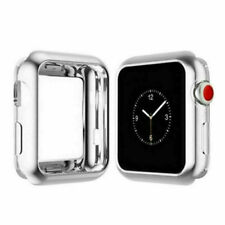 For Apple Watch 5 4 3 Case TPU Bumper Full Cover Screen Protector iWatch 40/44mm