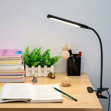 Flexible LED USB Clip-on Table Desk Lamp 3 Mode Reading Vintage Night Light