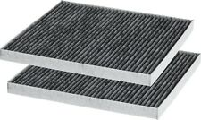 Fits 2011 - 2014 Kia Optima & Hyundai Sonata Carbon Cabin Air Filter (ALL TRIM)