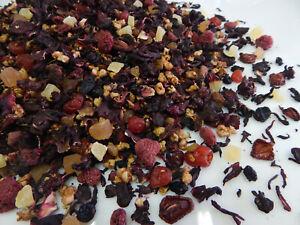 Fruit tea. Black loose leaf tea . Rosehip. Wild berry tea. Herbal tea /250gr