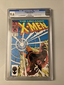 The Uncanny X-Men # 221 CGC 9.6 White Pages 1st Mister Sinister