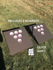 Beer pong Golf! Two Boards! Quick Ship! Holiday Party Game Christmas Gift