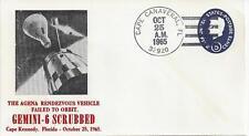 1965 Gemini 6 Scrubbed as Agena Vehicle failed to Orbit, Rare Cover