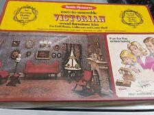 Realife Miniatures Easy-to-assemble Wood Furniture Kit Heritage Series Nursery