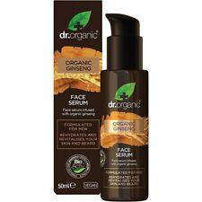 Dr Organic Men's Face Serum Organic Ginseng 50ml Serum & Concentrates