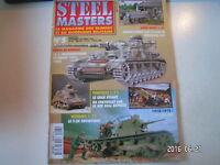 **c Steel Masters n°5 T-26 Soviétique / 1e Panzerdivision en Russie / M3 Stuart