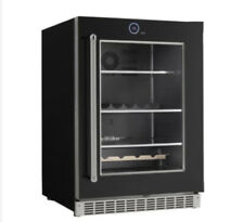 "NEW Danby Silhouette SRVBC050R 24"" Black Built-in Beverage Center Invisi-Touch®"