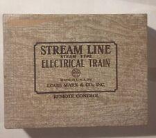 VINTAGE - MARX Stream Line Electric Remote Control Train - 1940s - 1950s
