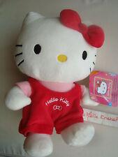 peluche Hello Kitty cache trésor pelush Hello Kitty neuve avec étiquette 25cm