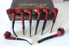 Pipa GOLDEN LEAF anni '50/'70 tutti modelli nuovi forme varie short pipe vintage