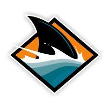 San Jose Sharks Shark Fin Sticker Decal Die Cut Vinyl Case Car Window Laptop