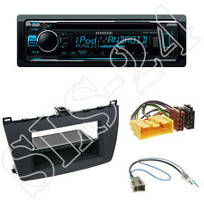 Kenwood KDC-300UV Radio + Mazda 6 (GH) 2-DIN Blende schwarz + ISO Adapter