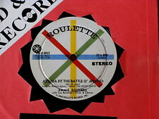 JIMMIE RODGERS~ JOSHUA FIT THE BATTLE O' JERICH~ NEAR MINT~ COMPACT ~ COUNTRY 45