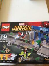 LEGO 76082 Marvel Super Heroes Spider-Man ATM Heist Battle - NEW