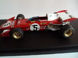 Ferrari 312 B2-1971 N°5 GP. d'Inghilterra Clay Regazzoni 1:43No Minichamps Tameo
