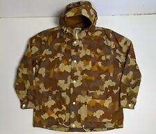 Levi's Made & Crafted Camo Waxed Cotton Parka Men's Size L / 3 Hooded Jacket