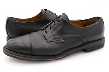 Mephisto Mens 11 Black Air Relax Leather Lace Up Oxford Dress Shoes EUR 44