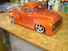 1:10 Body Hotrod Rat Rod 53er Ford Pick Up Truck Karosserie ( Clear +decals )