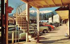 Weaverville California Spiral Staircase Store Fronts Vintage Postcard K35371