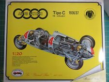 Rare Revival Auto Union Tipo C 1936/37 Bernd Rosemeyer Grand Prix 1/20 Model Kit