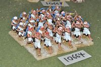 25mm biblical / egyptian - foundry axemen 24 infantry - inf (10664)