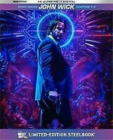 New John Wick 1-3 4K Ultra HD/Digital Steelbook  Best Buy Exclusive Trilogy