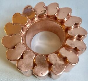Benham & Froud Truly Romantic And Very Special Victorian Copper Jelly Mould 536