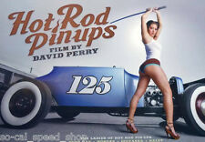 DAVID PERRY HOT ROD PINUP POSTER GARAGE ART RAT DVD PROMO FORD ROADSTER PHOTO
