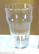Budweiser American Ale beer glass Anheuser-Busch brewery glasses 1 bar pub HS6