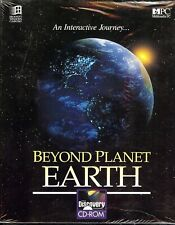 Beyond Planet Earth by Discovery Channel Multimedia Cd-Rom 1994 (Unopened Box)