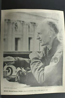 Ernie Ernest Taylor Pyle Print of International Portrait Gallery Vintage L1273F