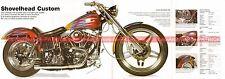HARLEY DAVIDSON 1340 Shovelhead Custom 1995 Fiche Moto 000515