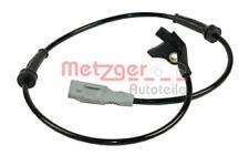 Sensor, Raddrehzahl für Bremsanlage Vorderachse METZGER 0900137