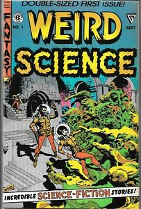 WEIRD SCIENCE #1 (VF/NM) WALLY WOOD, COPPER AGE EC SCI-FI