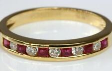 Band Ruby Fine Rings