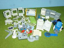 viele Teile OP Tische Betten zu Krankenhaus Zubehör 6657 4404 Playmobil 048