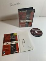 Tenchu Wrath of Heaven Sony PlayStation 2 PS2 Complete CIB - Tested