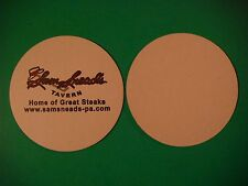 Beer Coaster ~<>~ Sam Snead's Tavern <> Home Of Great Steak <*> Orlando, FLORIDA