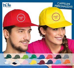 Cappellini Personalizzati con Visiera Gadget Promozionali per Eventi e Aziende