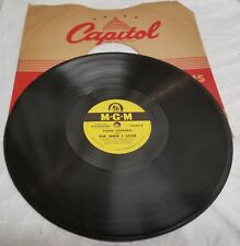 "MGM 10"" 78 - Sarah Vaughan - The Man I Love / Once In A While - #10549"